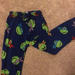 Fuzzy small unisex pajama pants